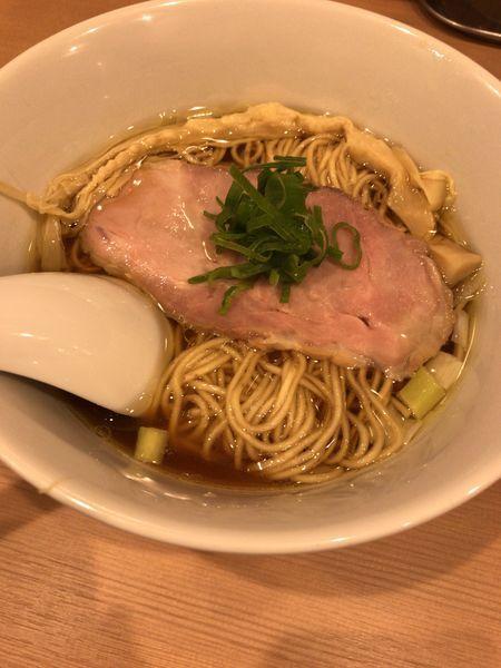 「らぁ麺 800円」@麺亭しま田の写真