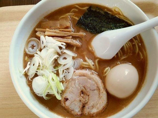 「中華そば+味玉」@一道麺屋の写真