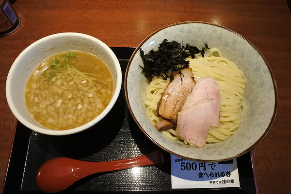 「煮干しつけ麺¥730」@中華そば 蓮の華の写真