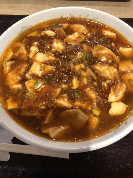 「麻婆麺」@独一処餃子 ニューコースト新浦安店の写真