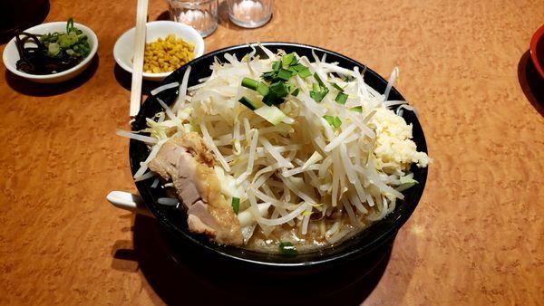 「ジパング麺 野菜増し」@ジパング軒の写真