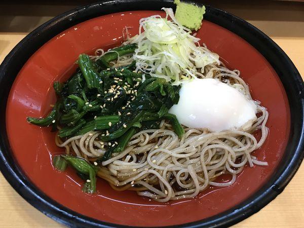 「冷し朝そば  330円」@そばの神田 東一屋 名掛丁店の写真
