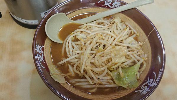 「味噌ラーメン 710円」@ラーメン 東横 紫竹山店の写真