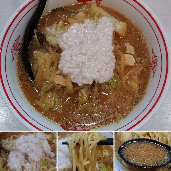 「味噌タンメン+背脂=840円」@蒙古タンメン 中本 御徒町店の写真
