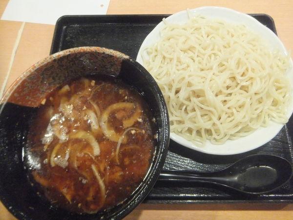 「つけ忍炎激炎1.5玉930円(麺硬め味濃い目油多め)」@夢館 柏店の写真