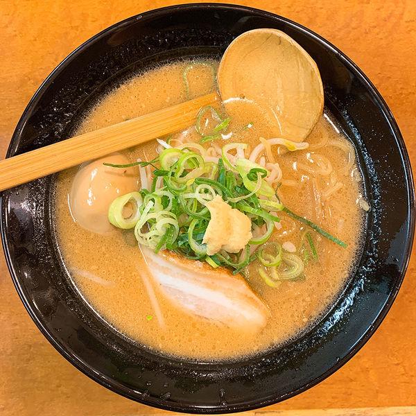 「味玉濃厚味噌らーめん」@無双 三軒茶屋店の写真