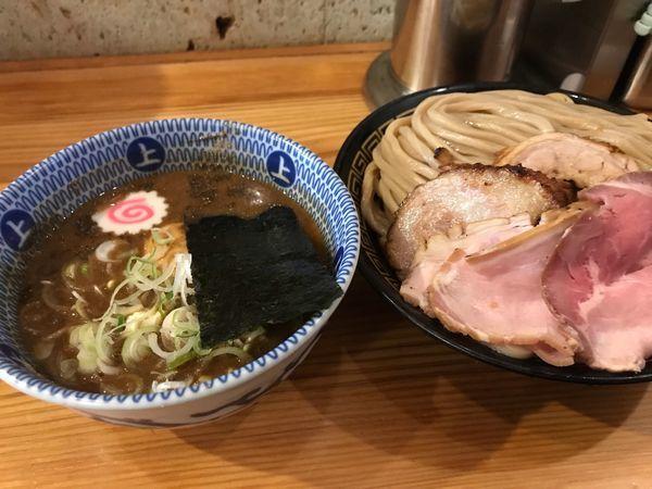 「特製つけ麺」@中華蕎麦うゑずの写真