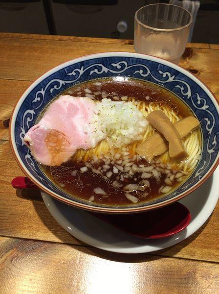 「醤油ラーメン600円」@麺屋 坂本01 新潟駅前店の写真