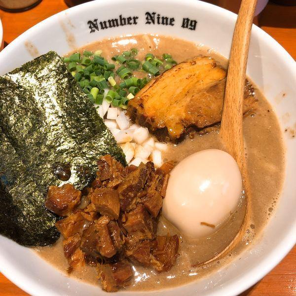 「贅沢らーめん ¥1000」@麺Dining Number Nine 09の写真