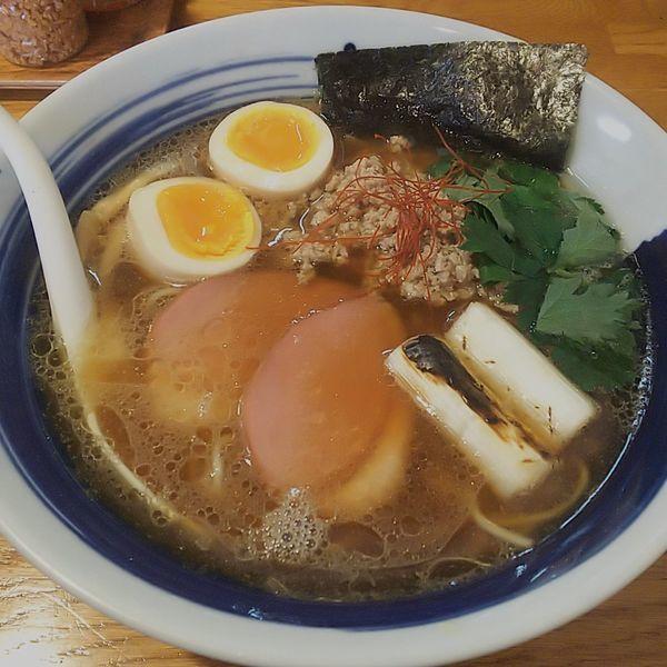 「【5周年限定】鴨ねぎラーメン」@麺屋 鶏口の写真