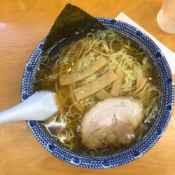 「正油らーめん 750円」@麺家 大勝軒の写真