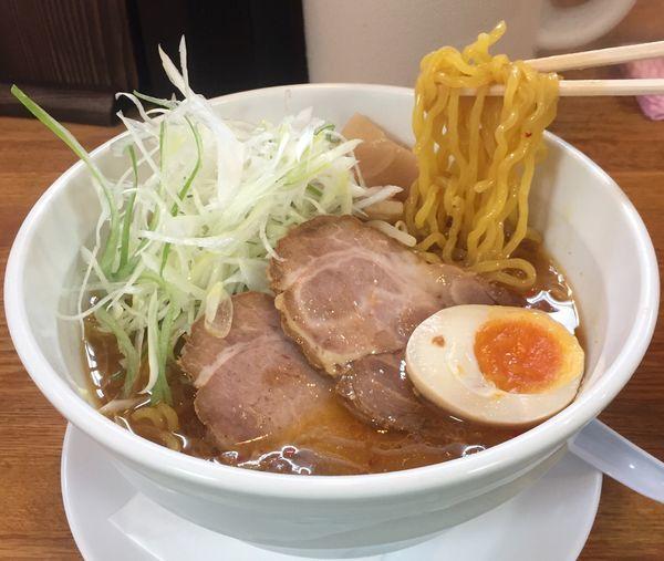 「味噌らーめん850円」@北海道らーめん さつほろの写真