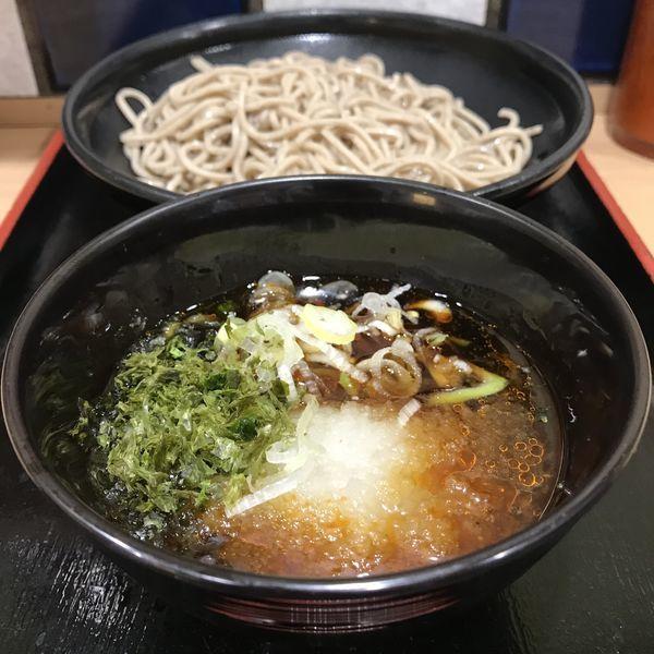 「【季節限定】海苔つけ蕎麦(¥450)」@大江戸そば 池袋店の写真