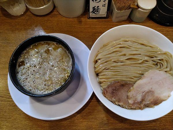「鶏白湯塩つけ麺」@中華そば 桐麺の写真