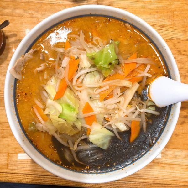 「こくうま野菜ラーメン」@ラーメン ねぎっこ 下川俣店の写真