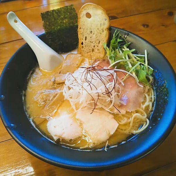 「濃厚鶏白湯」@上気元 いただきの写真