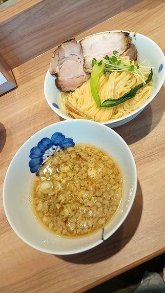 「生姜醤油つけ麺900円」@Niiの写真