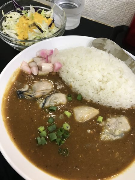 「牡蠣カレー」@ETHNIC STYLE CURRY SHINの写真