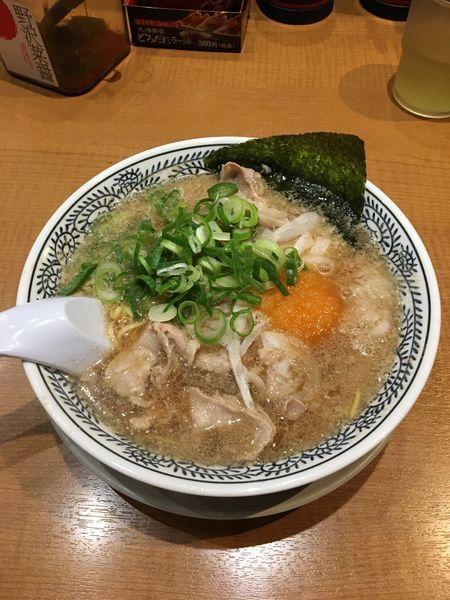 「肉そば 650円(税別)」@丸源ラーメン 足利店の写真