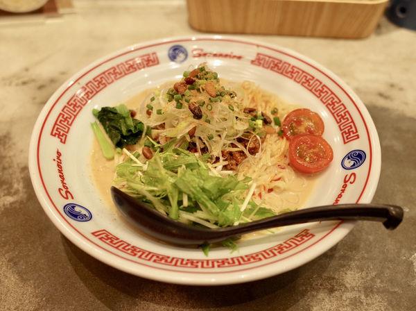 「豆乳冷やし担々麺…880円」@ソラノイロ  NAGOYAの写真
