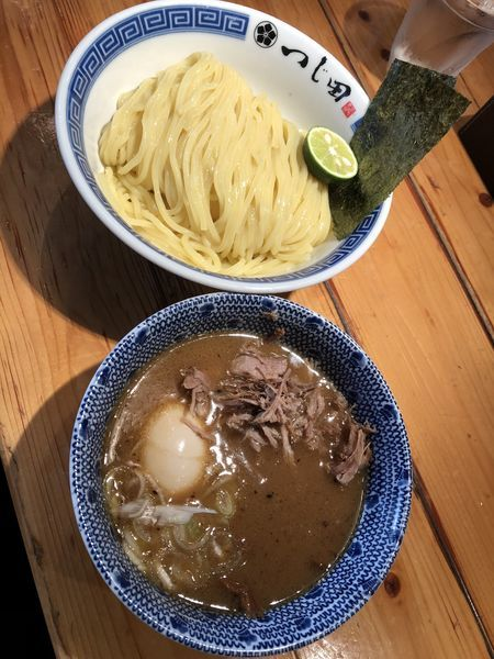 「濃厚豚崩しつけ麺」@つじ田 神田御茶ノ水店の写真