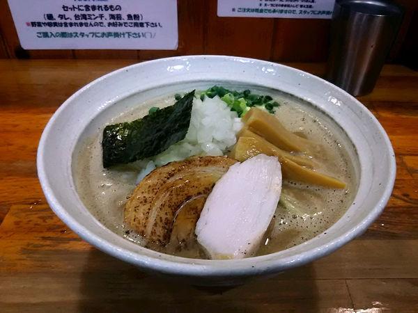 「むじゃきそば大盛り880円」@麺屋 むじゃきの写真