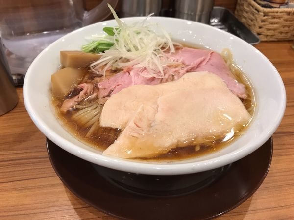 「7種の魚介の冷やしそば880円」@中華そば ココカラサキゑの写真