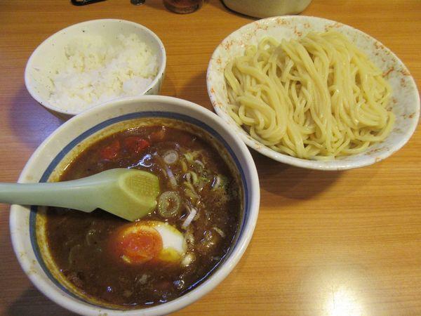 「カレーつけ麺(880円)+半ライス100円」@東池袋大勝軒 うさぎ家の写真