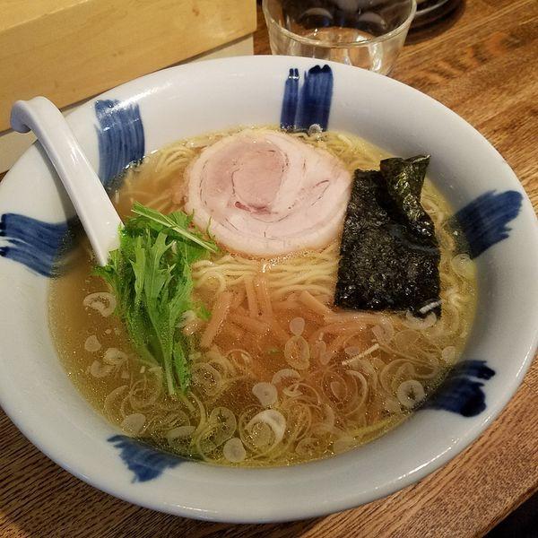 「塩ラーメン(¥720)」@ラーメン食堂 粋な一生の写真