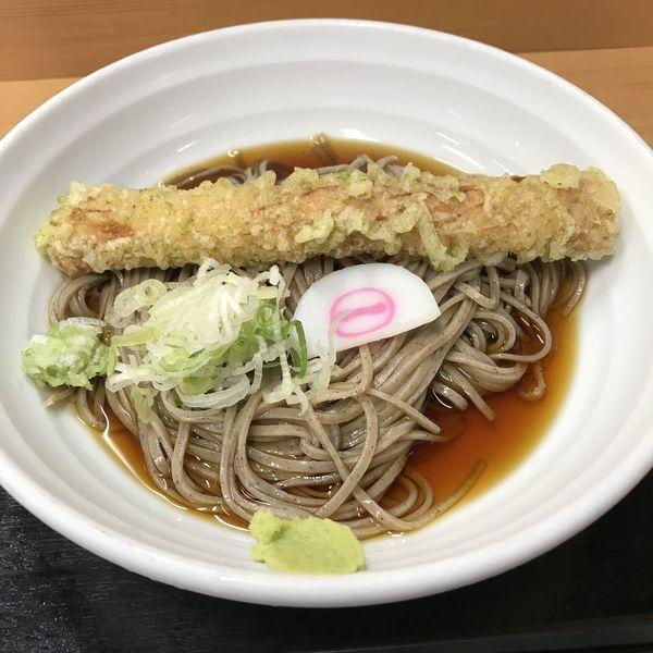 「冷しちくわ天(¥450)」@そばいち二八 IKE麺KITCHEN池袋店の写真