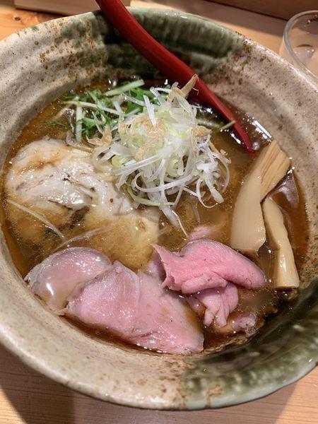 「焼きあご塩らーめん」@焼きあご塩らー麺 たかはし 上野店の写真