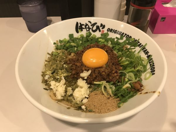 「台湾まぜそば」@麺屋 はなび 京都拉麺小路店の写真