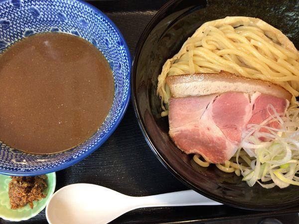 「濃厚魚介つけ麺」@麺屋 太陽の写真