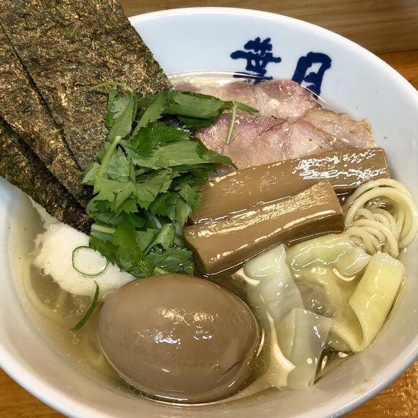 「汐 特ワンタン麺」@らぁめん 葉月の写真