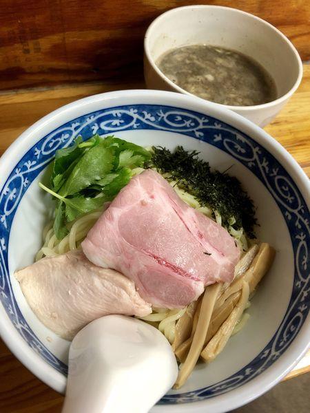 「【限定A】濃厚イカつけ麺 ¥900」@中華そば よしかわの写真