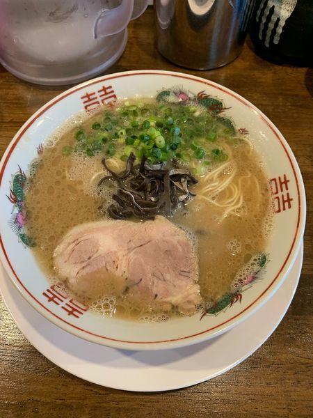 「豚骨ラーメン」@ラーメン池田の写真