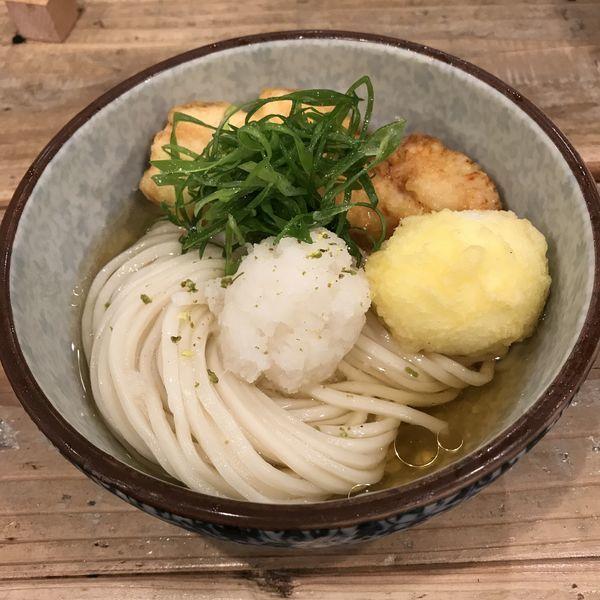 「鶏玉天ぶっかけ(¥780)」@麺屋 坂本01の写真
