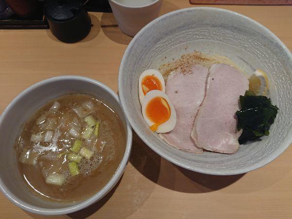 「特製塩つけ麺」@らーめん道の塩の写真