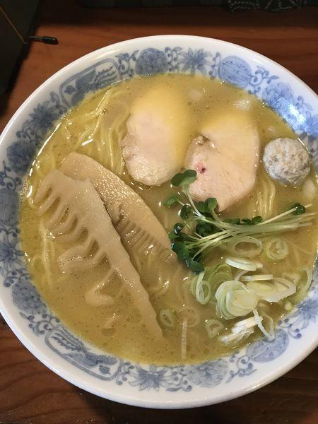 「鶏そば本絞り塩+大盛(¥850)」@中華そばつけそば 千思萬考の写真