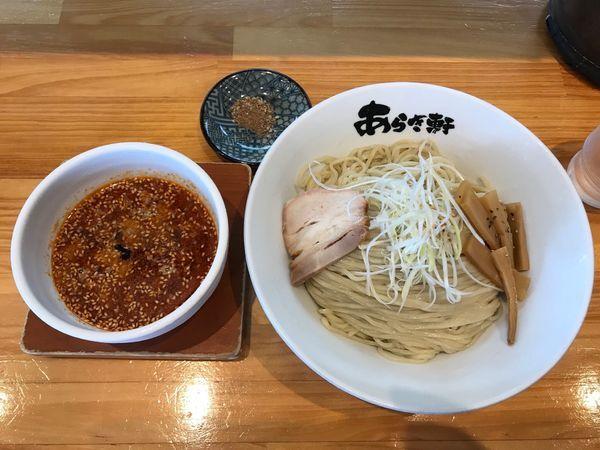 「冷やし辛つけ麺 790円」@ニボチャチャ!!ラーメン あらき軒の写真