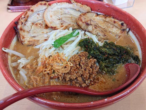 「味噌漬け炙りチャーシュー麺(伊勢味噌)」@蔵出し味噌 麺場 田所商店の写真