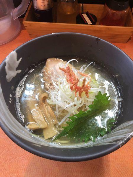 「えび塩拉麺」@らうめん梵の写真