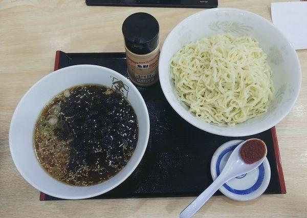「醤油つけ麺730円」@城西 金ちゃんラーメンの写真