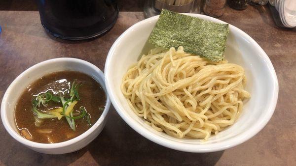 「醤油つけ麺 大盛り無料」@NOODLE VOICEの写真