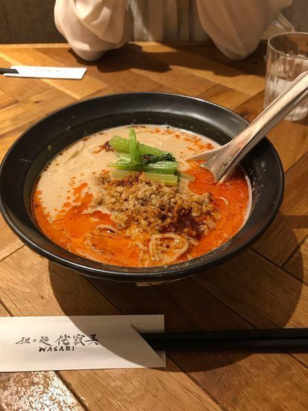 「担々麺」@担々麺 侘寂美の写真