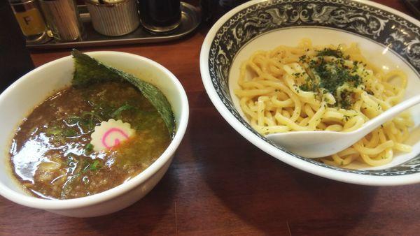「魚介豚骨つけ麺」@拉麺 梅太郎の写真