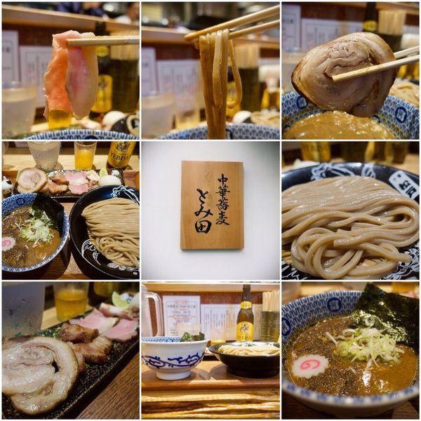 「つけ麺(小)+特製 1850円」@中華蕎麦 とみ田の写真