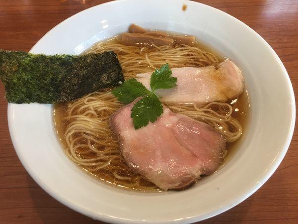 「醤油ラーメン」@中華そば 七麺鳥の写真