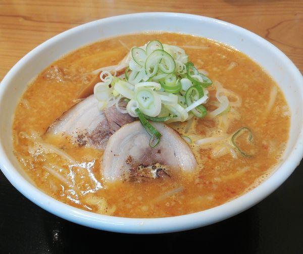 「味噌ラーメン」@自家製麺 麺屋 虎治の写真