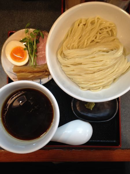 「丸鶏醤油つけ麺」@らぁ麺 幸跳の写真